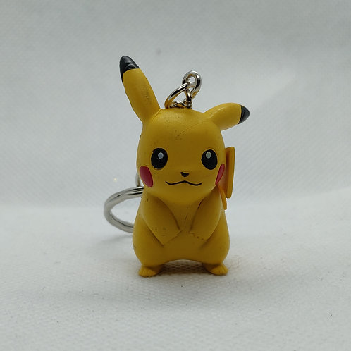 Pikachu V1 keychain mini figure