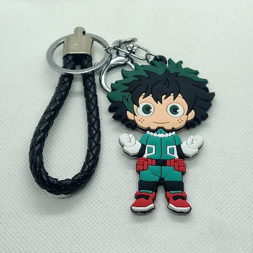My Hero Academia Deku Rubber Keychain