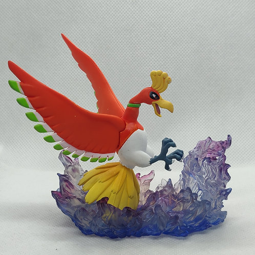 Pokemon Ho oh Mini Statue
