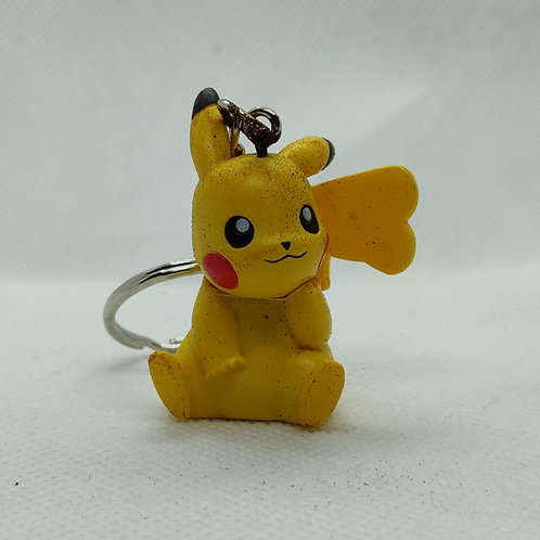 Pikachu V3 keychain mini figure