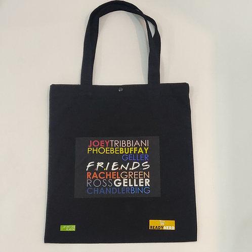 Canvas Tote Bag: Friends