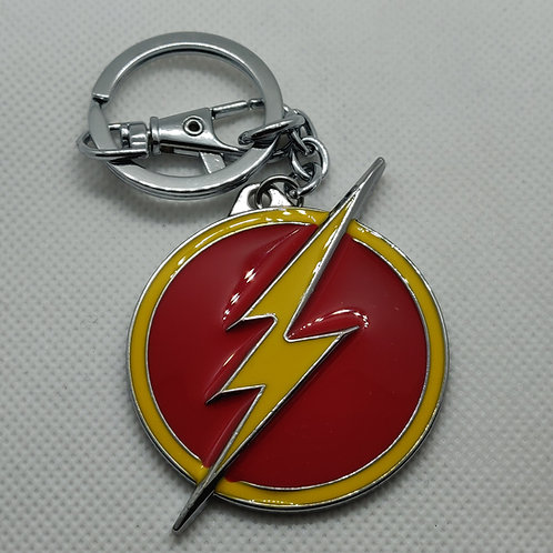 DC Flash Metal Keychain