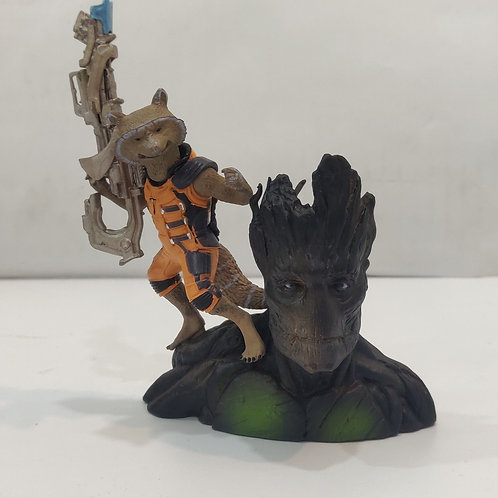 Guardians of the Galaxy: Groot and Rocket Artfx Statue