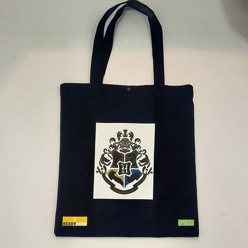 Canvas Tote Bag: Harry Potter: Hogwarts Logo