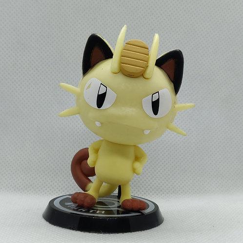 Pokemon Meowth Big Head Mini Figure