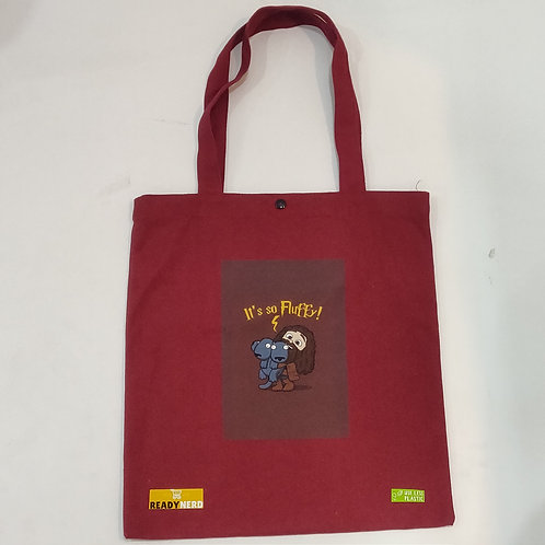 Canvas Tote Bag: Harry Potter Hagrid Its so Fluffy