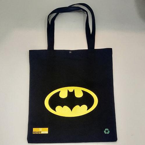 Canvas Tote Bag: Batman Logo