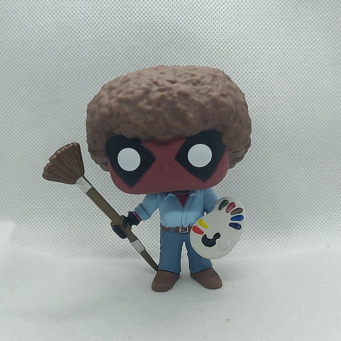 Deadpool as Bob Ross Funko Pop Vynl