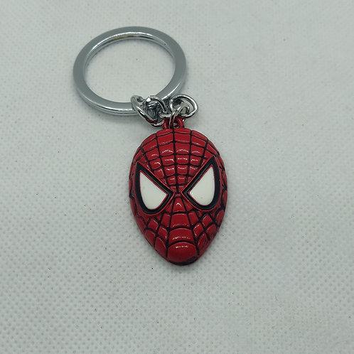 Spider-Man Mask Keychain
