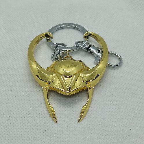 Marvel Loki Crown Metal Keychain