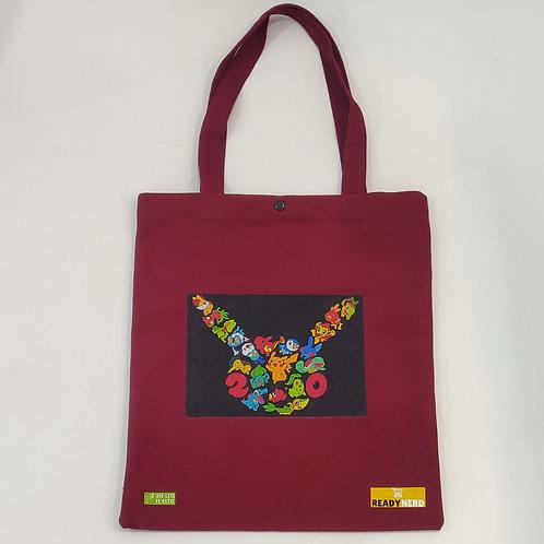 Canvas Tote Bag: Pokemon Starters 20 Years Celebration