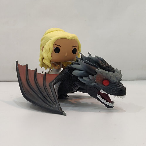 Daenerys with Drogon 6 inch Funko Pop Vynl