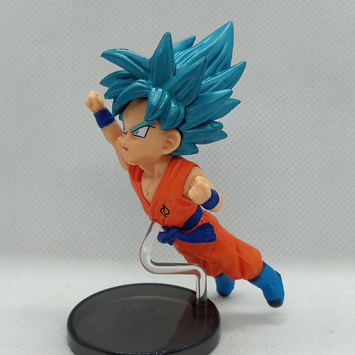 Dragon Ball Goku Super Sayain Blue Mini Figure