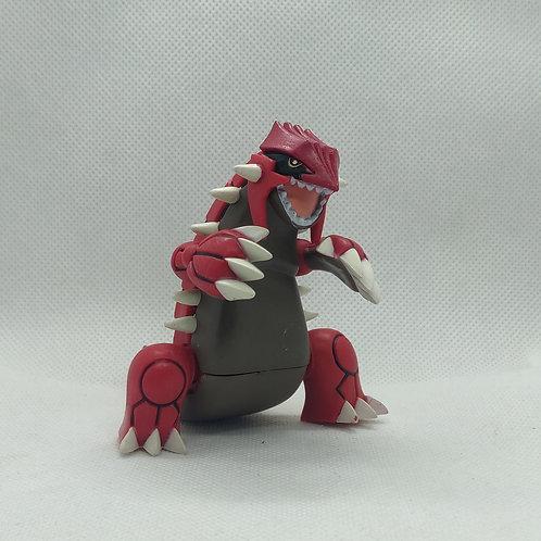 Pokemon Groudon Mini Figure