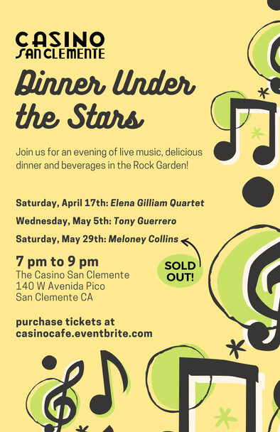Dinner Under the Stars Spring