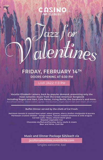 Jazz for Valentines