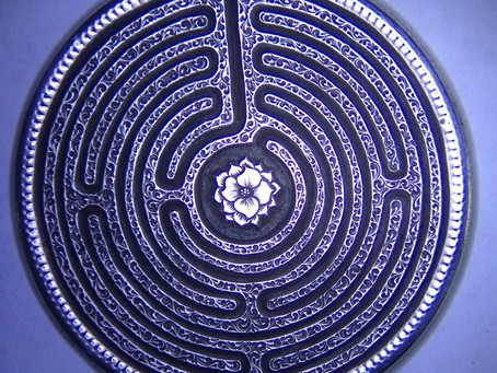 Labyrinth Engraving Process