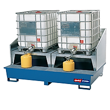 IBC tankı sıvı toplama küveti