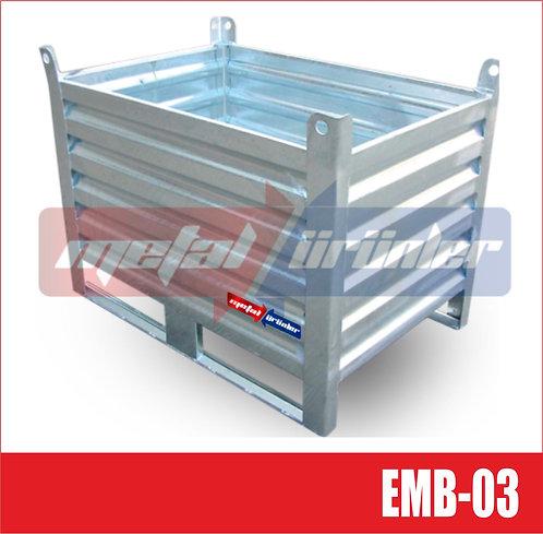 Euro Box - Metal Taşıma Kasası