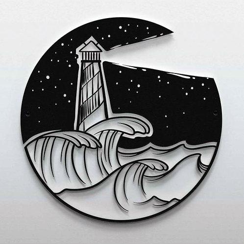 Deniz Feneri Silüeti