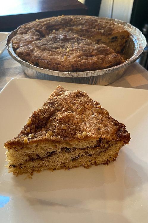 Coffee Cake (6-8 Servings / Variety of Flavors)