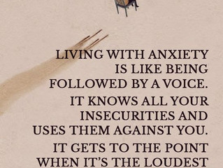 Is your life shaped by your anxiety?