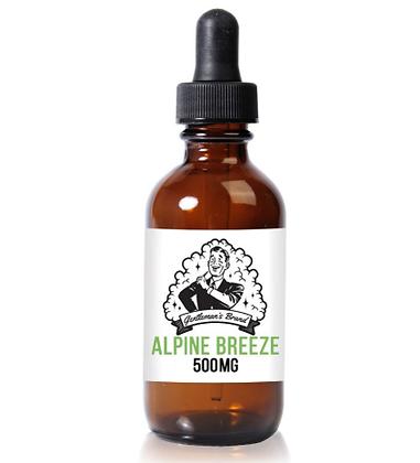 Gentleman's Brand 500mg E-Liquid Alpine Breeze