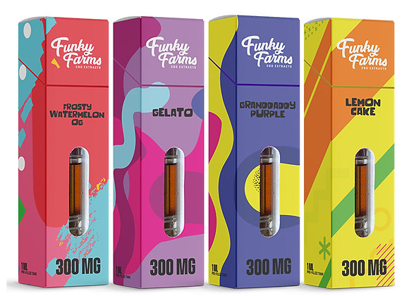 Funky Farms Strain Specific 300mg