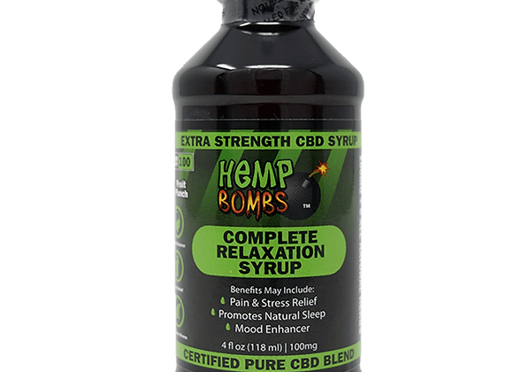 HempBombs Complete Relaxation Syrup