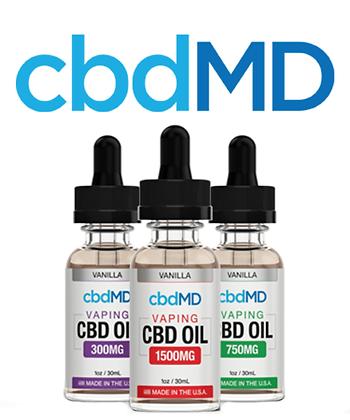 cbdMD Vape Oil 300mg