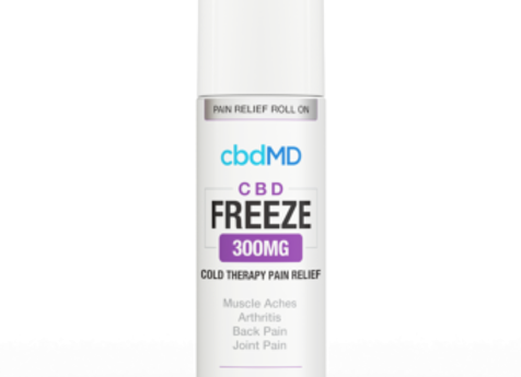 cbdMD Freeze Cold Therapy Pain Relief