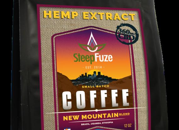 Steep Fuze CBD Coffee New Mountain 90mg