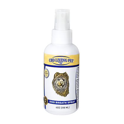 CBD Living Dog Breath Spray