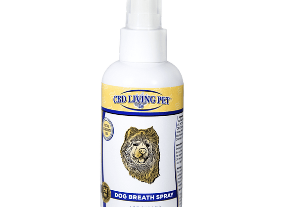 CBD Living Dog Breath Spray