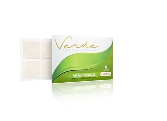 Verde Topical Patch 100mg