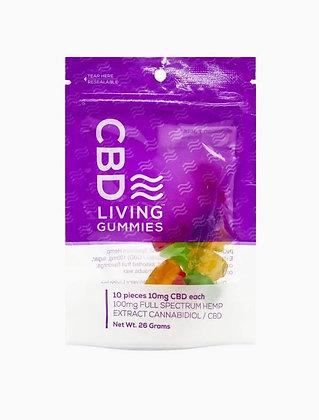 CBDLiving Gummy Bears 100mg