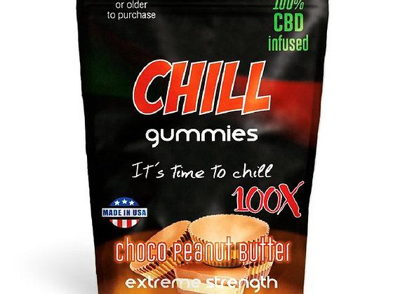CBD CHILL Gummies Peanut Butter Cups