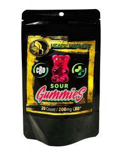 Heady Harvest Sour Gummies 1000mg