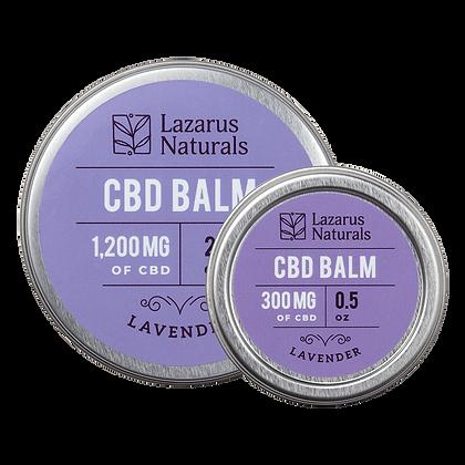 Lazarus Naturals 1200mg Lavender CBD Balm
