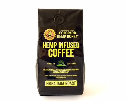 Colorado Hemp Honey Hemp Infused Coffee 215mg