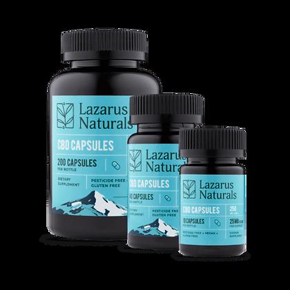 Lazarus Naturals 25mg Capsules 10 count