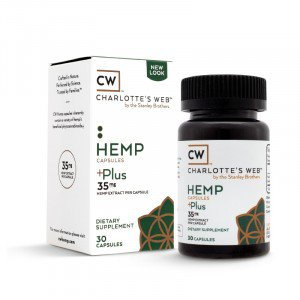 Charlottes Web Hemp Capsules Plus
