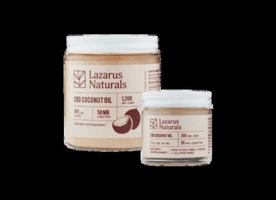 Lazarus Naturals 300mg CBD Coconut Oil