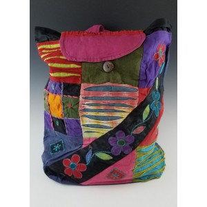 Razor Cut Hippie Style Backpack