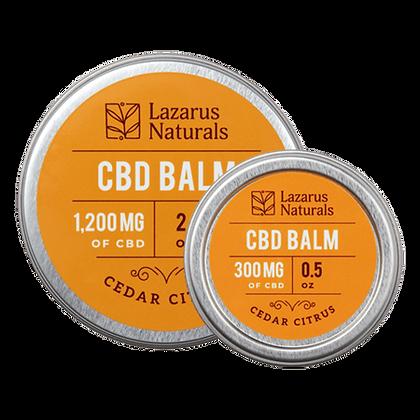 Lazarus Naturals 1200mg Cedar Citrus CBD Balm