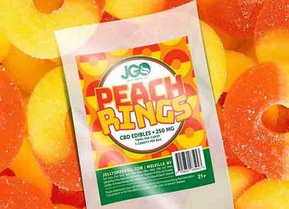 JGO Peach Rings 250mg