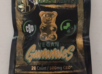 Heady Harvest Vegan Gummies 500mg