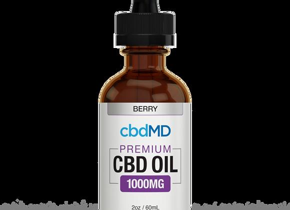 cbdmd Premium CBD OIL 1000mg