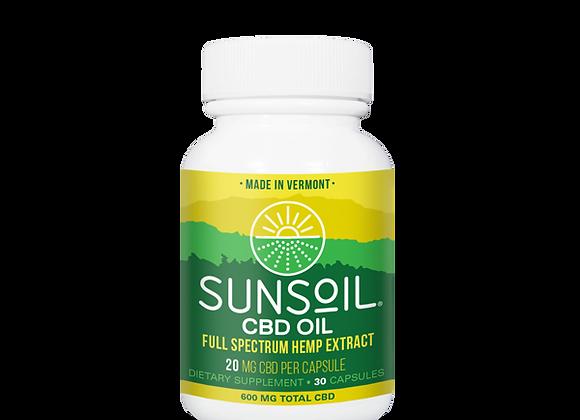 SunSoil CBD Oil Full Spectrum Hemp Extract  600mg