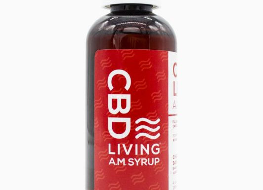 CBDLiving A.M. Day Syrup 120mg